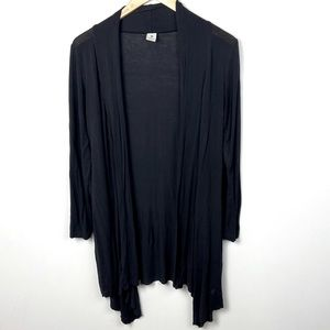 Hatch Maternity Collection Black Cardigan Size XS